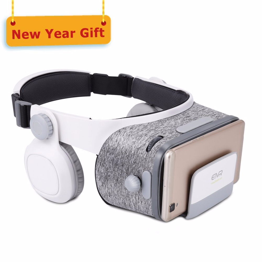 Z4 Update ETVR Z5 Leather Virtual Reality Goggles Glasses 3D Google Cardboard VR Headset Helmet For smartphone 4.7 -6.0 inch