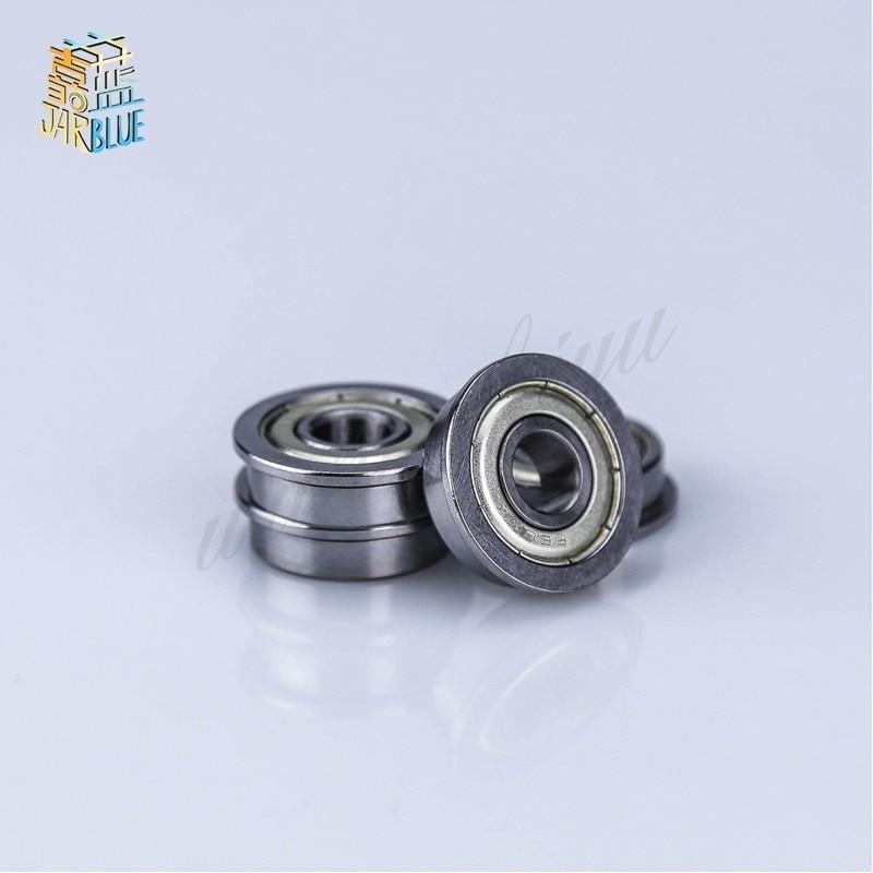 10pcs Flange Ball Bearing F608ZZ 8*22*7 mm Metric flanged Bearing