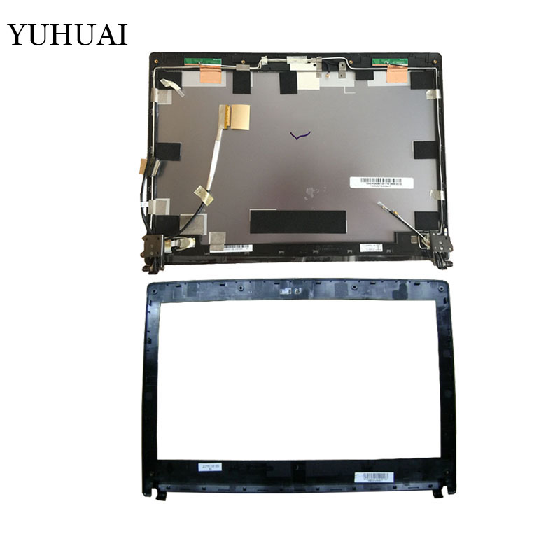 цены New laptop cover For Asus U30JC U30J U30 U30SD LCD Back Cover with Hinges/LCD front bezel 13GNXZ1AM044-1