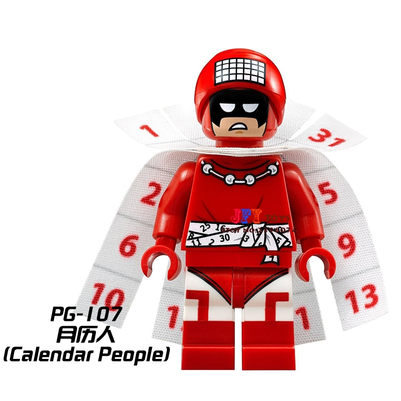 50pcs superhero Bat Movie Calendar man building blocks bricks friends for girl boy kids children toys brinquedos menina