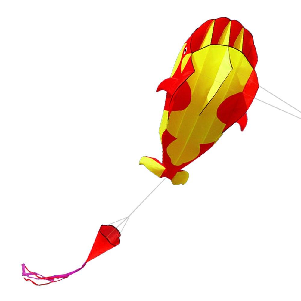 Wassersport Romantisch 3d Kite Riesige Rahmenlosen Weichen Parafoil Riesen Whale Drachen Außen Strand Spaß Sport 3d Großer Wal Kite Für Kinder