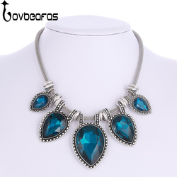 Lovbeafas 2017 fashion statement maxi choker necklace collar collier bijoux love heart wedding jewelry necklaces pendants.jpg 250x250
