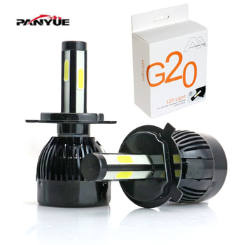 Elglux Super Bright Headlamp 4size H1 LED Headlight H7 H11 9006 High/Low Beam Car Front Light Bulb 6000k KJAUTOMAX high power