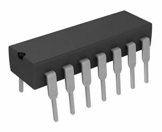 10pcs/lot CD4011BE DIP14 CD4011 DIP 4011BE DIP-14 New And Original IC In Stock