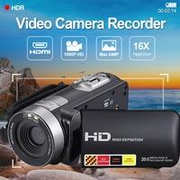 Cewaal 3.0 inch LCD 1080P HD IR Night Vision Infrared Digital Cameras Video Recorder DV Consumer Camcorders Portable US Plug