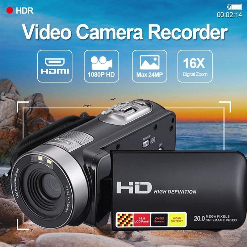 Cewaal 3.0 pouce LCD 1080 P HD IR de Vision Nocturne Infrarouge Numérique Caméras Vidéo Enregistreur DV Caméscopes Grand Public Portable NOUS Plug