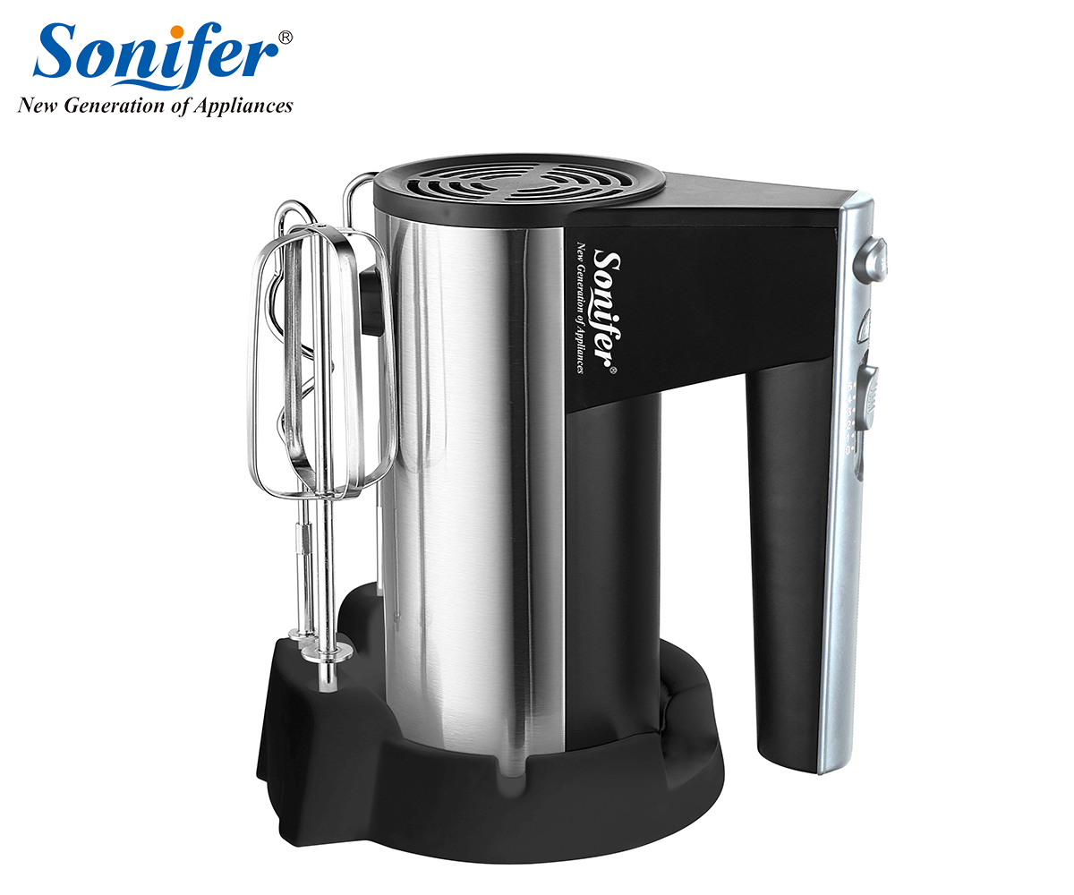 300W Stainless steel 5 speeds Food Mixers Dough Mixer Egg Beater 220v Food Blender for Kitchen Sonifer multifunction table electric food mixers dough mixer egg beater 220v food blender for kitchen sonifer