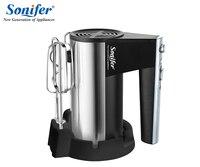 Stainless Steel 5 Speeds Food Mixers Dough Mixer Egg Beater 220v Food Blender For Kitchen Sonifer