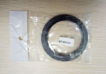 Wholesale 50pcs/Lot Macro 58mm Filter Diameter Lens Reverse Adapter Ring EF-58mm for 650d 50d 700d 100d 5D3