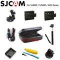 Acessórios sj5000 sjcam sj4000 bateria saco tripé monopé bobber flutuante para câmera ação cam sj4000 sj 5000 m10 plus sj5000x