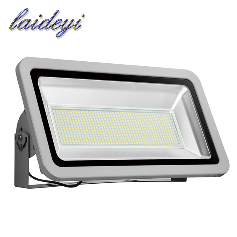 1Pcs 500W Led Flood Lights Outdoor High Power 220V 4000lm Waterproof IP65 Outdoor Led Floodlight Spot Light with DHL shipping