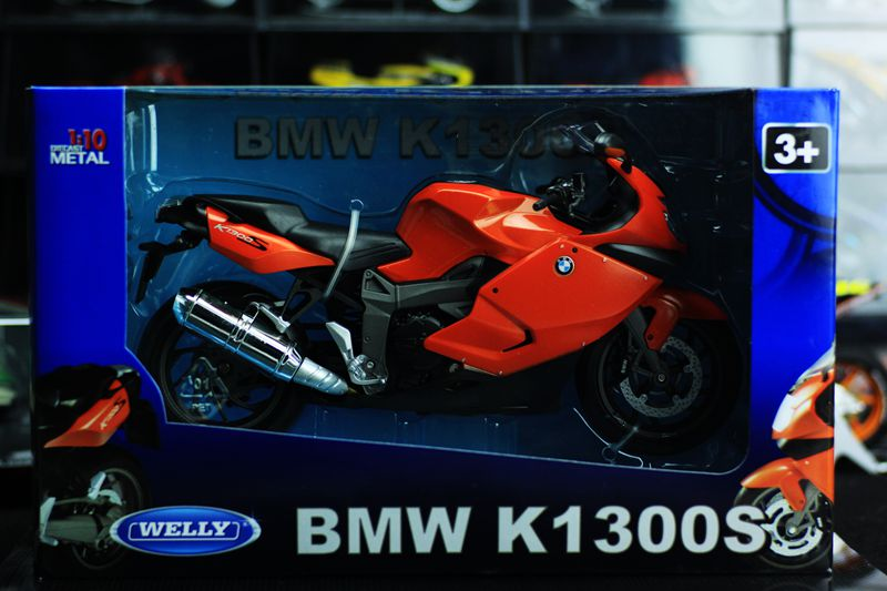 1:18 K1300S Motorcycle Collection Model  Motorcycle Model Toy