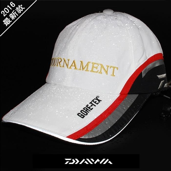 2017 NEW DAIWA Fishing cap Brim of a font b hat b font Lengthened Breathable waterproof
