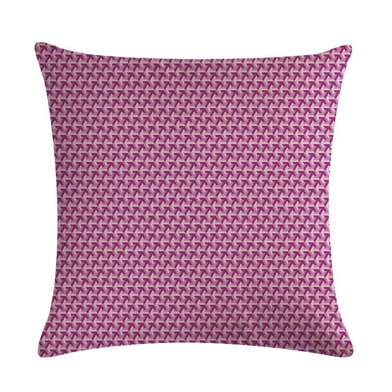Purple Embroidery Wave Stripe Labyrinth