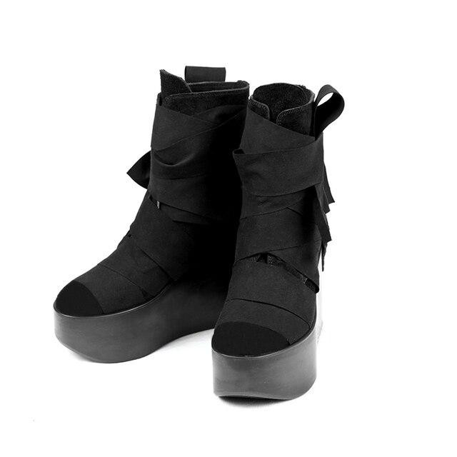 59fc00bdc3f6 PUNK RAVE original product platform shoes fashion female winter shoes