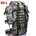 80L Men Military Backpack Large Capacity Women Mountaineering Backpack Waterproof Trekking Camouflage Big Travel Backpacks Bag