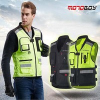 2017 New MOTOBOY Cross country Reflective clothing motorcycle riding Vest motorcycle racing suits jacket at night can reflective