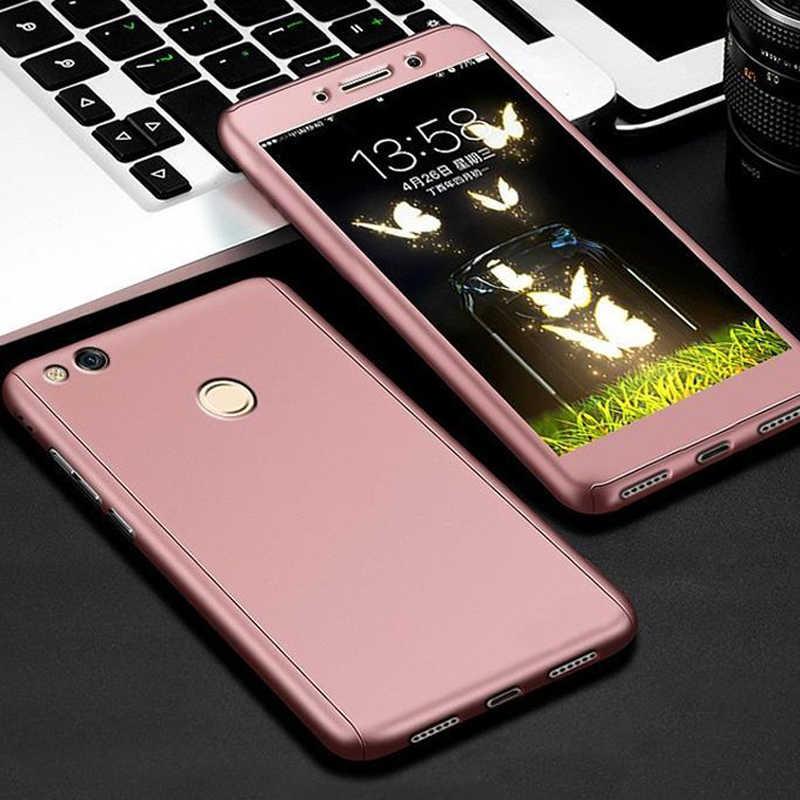 360 Full Cover Case for Huawei P8 Lite 2017 P9 Lite 2017 Honor 8 Lite Case Phone Back Cover Funda