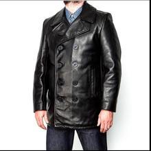 DHL Бесплатная доставка, брендовая одежда из коровьей кожи Длинные куртки мужские из натуральной кожи Черный Повседневная куртка. модные классические