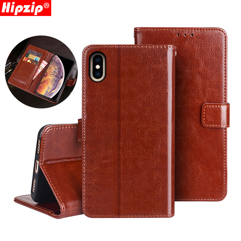 Vintage Glossy Leather <font><b>Wallet</b></font> Flip Cover For <font><b>iPhone</b></font> Xs Max Xr X 8 7 6 6S Plus 6SPlus 8Plus 5 <font><b>5S</b></font> SE <font><b>Case</b></font> Card Holder Shell Belt image