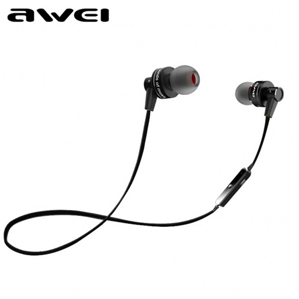 Awei A990BL Sport Blutooth Auriculares Bluetooth Earphone For Your Ear Phone Headset Cordless Wireless Headphone Earpiece Earbud 2
