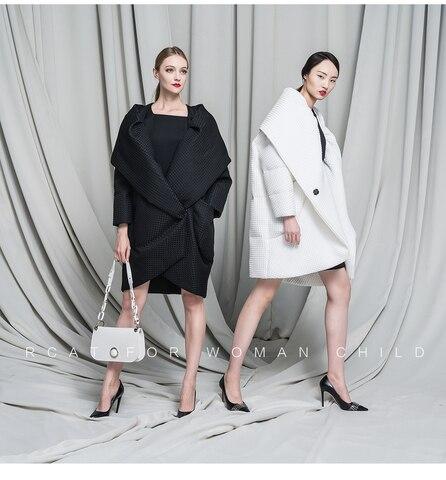 plus size novo design 2016 mulheres jaqueta de inverno para baixo casacos solto parka downs