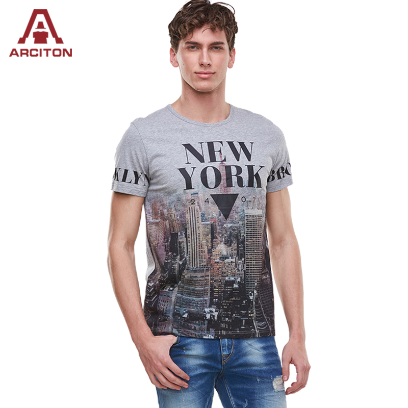 Buy a arciton 2017 new arrival 100 for New york printed t shirts