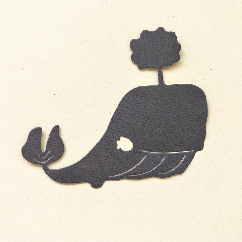 Naifumodo Dolphin Metal Cutting Dies Christmas for Scrapbooking Card Making Album Embossing Crafts Die cut Craft in Cutting Dies from Home Garden