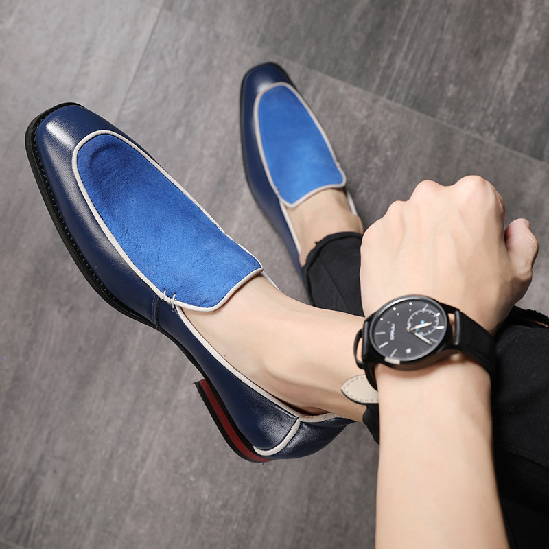 2019 Men's Dress Shoes Fashion Toe Tips Moccasins Leather Shoes Oxford Shoes For Men Formal Weddings Zapatos De Vestir K4-47