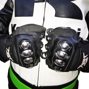 Image 2 - Full finger motorcycle gloves security protective Sweat absorb motocross dirbike DH racing gloves men women moto gloves