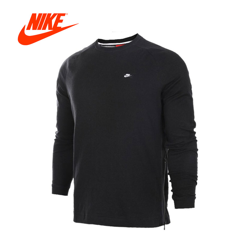 Original New Arrival Authentic NIKE Men's Breathable Knitted Leisure Pullover Jerseys Sportswear original adidas men s knitted pullover ab4373 ab4374 jerseys sportswear free shipping page 1