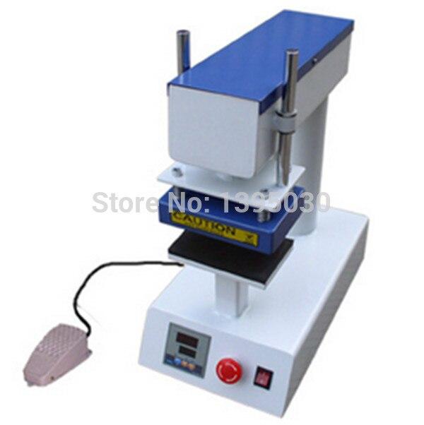 Label Heizung Presse Maschine Pyrograph Stanzen Maschine 10*15 CM
