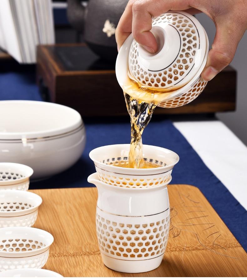 acheter Service à Thé Porcelaine chinoise | OkO-OkO™