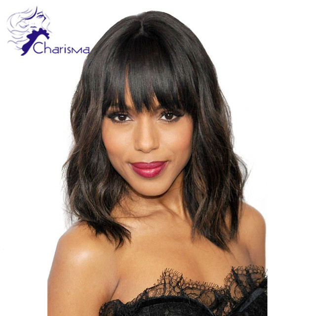 100% Brazilian Full Lace Wig Glueless Human Hair Lace Front Bob Wig None Lace Wig Short Bob With Baby Hair For Black Women