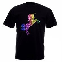 okoufen funny t shirt ideas mens o neck design short sleeve gay pride rainbow glitter - T Shirt Logo Design Ideas