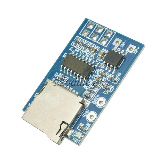GPD2846A TF Card MP3 Decoder Board 2W Amplifier Module for Arduino GM