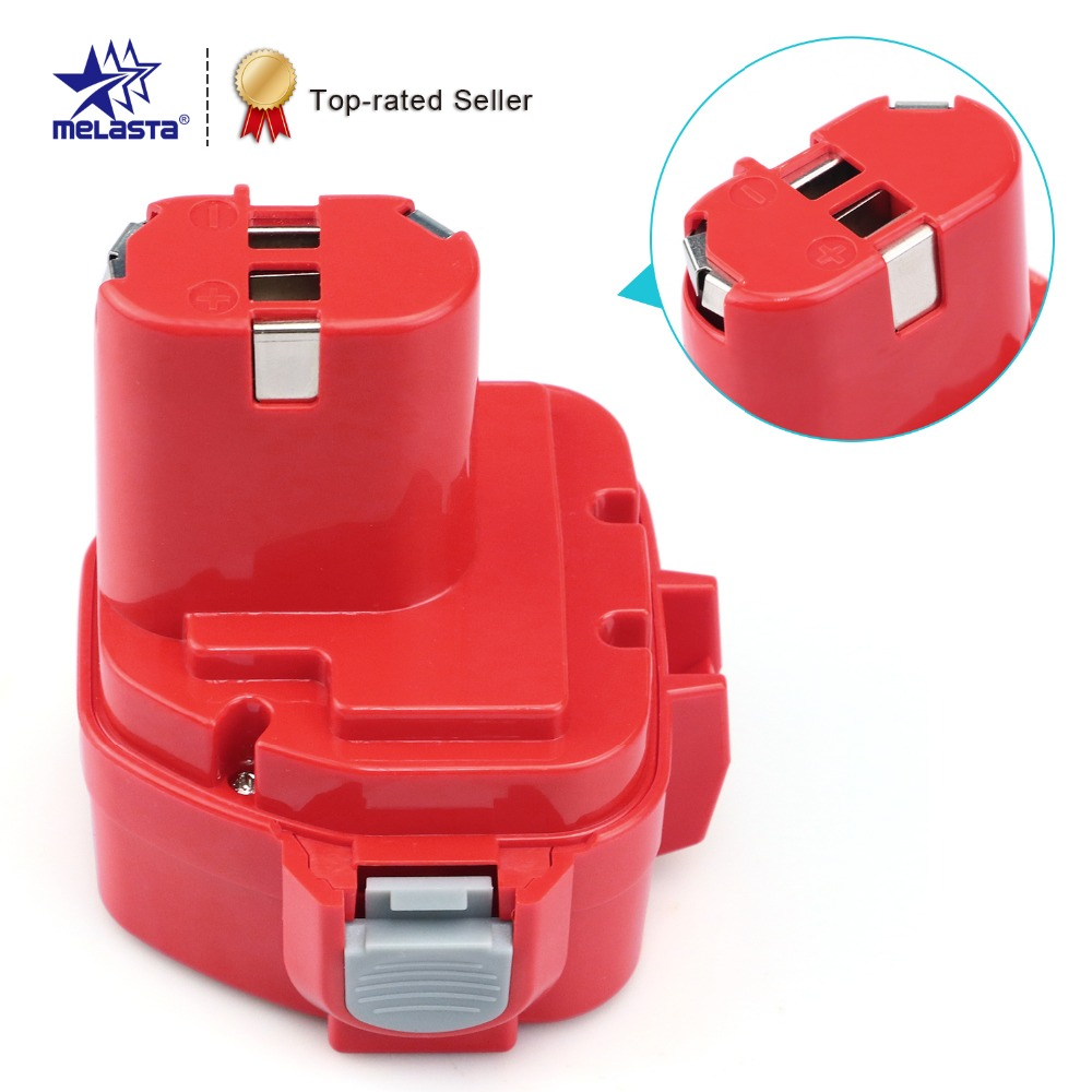 все цены на  MELASTA 12v NiCd 2100mAh Battery Replacement Battery for Makita 1220 PA12 1222 1233S 1233SA 1233SB 1235 1235A 1235B 192598-2  онлайн