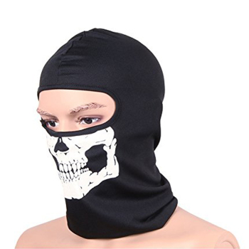 CS Ghost Biker Skull Hood Mask