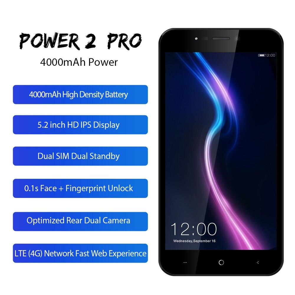 LEAGOO-POWER-2-Pro-5-2-HD-Mobile-Phone-Android-8-1-MTK6739-Quad-Core-2GB