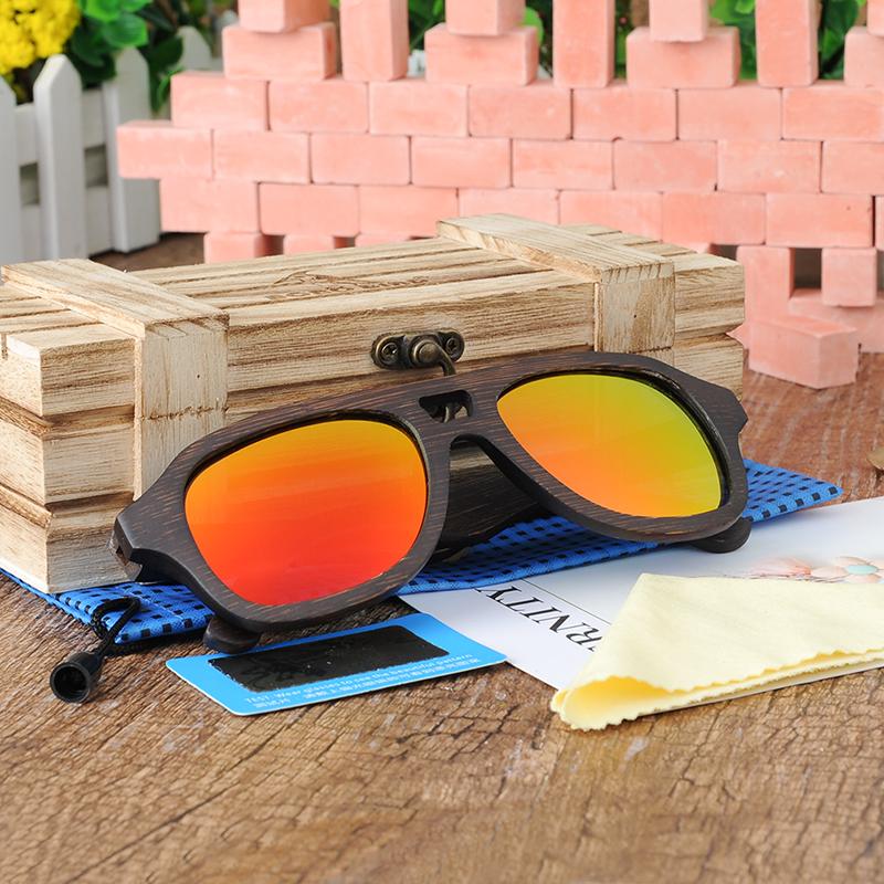 Yellow Red Polarized Sunglasses for women and men BOBO BIRD (12)