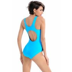 Новинка 2019, сдельный купальник, женский спортивный сексуальный купальник с открытой спиной, купальники, купальные костюмы 3