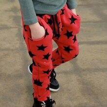 Основания звезды покроя свободного шаблон горячей малыша мальчиков длинные хлопок мода