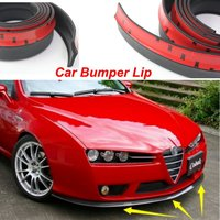 Bumper Lip Deflector Lips For Alfa Romeo 159 AR 2000~2017 / Front Spoiler Skirt Car Tuning / Body Kit / Strip