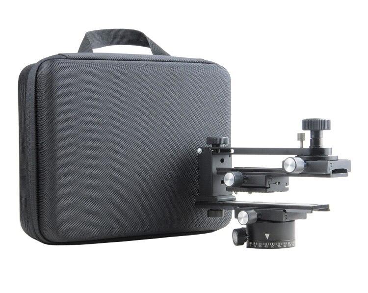 fotomate Panoramic Tripod Ball Head 360 Gimbal Bracket Rail Slider Quick Release+Suitcase for canon nikon sony dslr camera