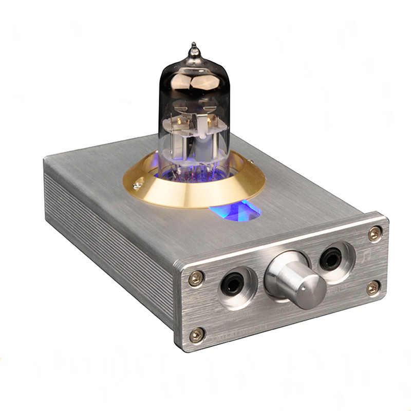 LEORY DIY HIFI усилитель для наушников уровень лихорадка клапан с светодио дный фонари аудио трубки для компьютера MP4 без потерь Музыкальный плеер