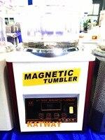Бесплатная доставка Новый цифровой 0,6 кг Магнитный стакан полировки стаканы машина, отделка золото и платины ювелирные изделия