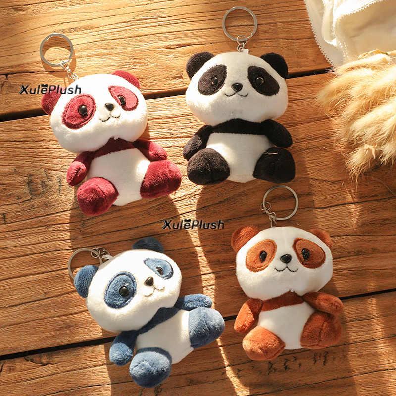 Çok boyutları, yeni sevgilisi Panda 3-10CM peluş doldurulmuş oyuncaklar-anahtarlık halka kolye peluş oyuncaklar, düğün hediyesi Panda peluş oyuncak