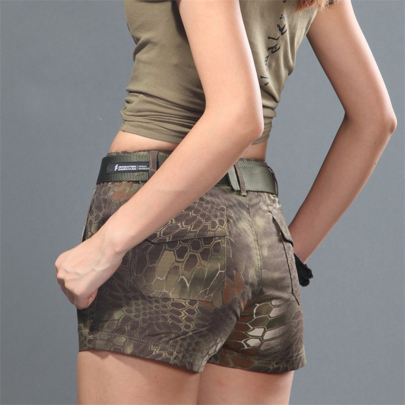 Camouflage Woman Shorts Ripstop patrol Shorts Women Mountain Tactical Shorts Camoufalge ...