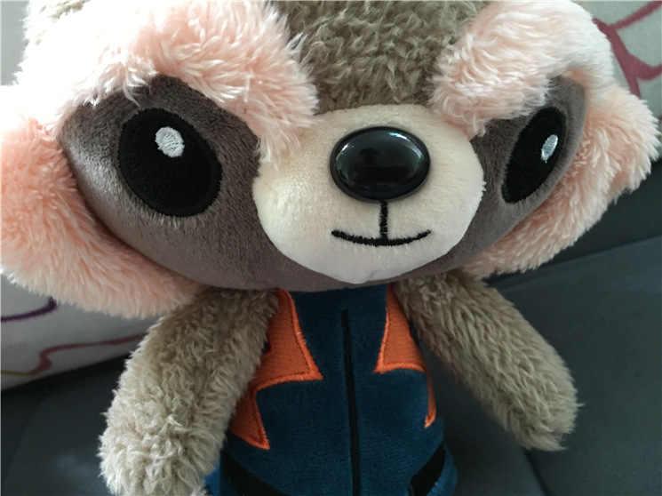 """Marvel Movie Guardians of the Galaxy 2 2017 новые плюшевые игрушки 6 """"22 см танцы детское дерево человек енот мягкая плюшевая кукла детские подарки"""