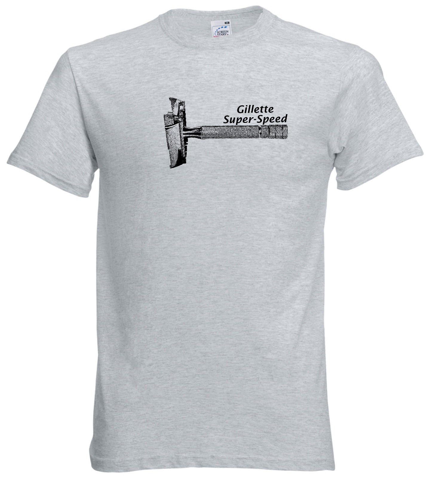2019 Super Speed DE Adjustable Razor <font><b>Shaving</b></font> Men's T <font><b>Shirt</b></font> Super-Speed image